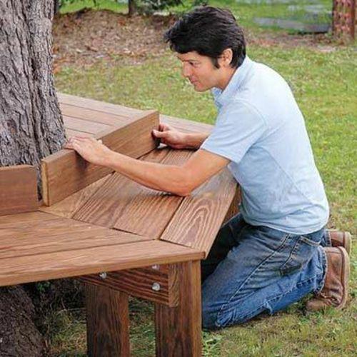 Nützliche Anleitung dafür, wie man eine Gartenbank selber bauen - gartenbank selber bauen