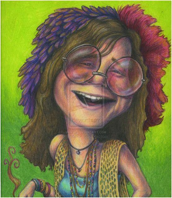 Caricatures Of Celebrity - Bing ImagesJanis Joplin