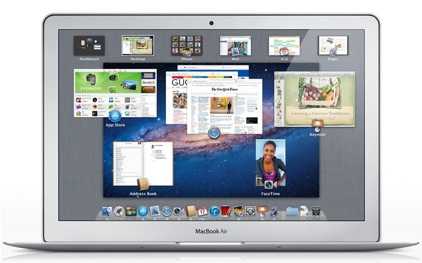How To Use Lion Mission Control Mac App Store Macbook Air Macbook