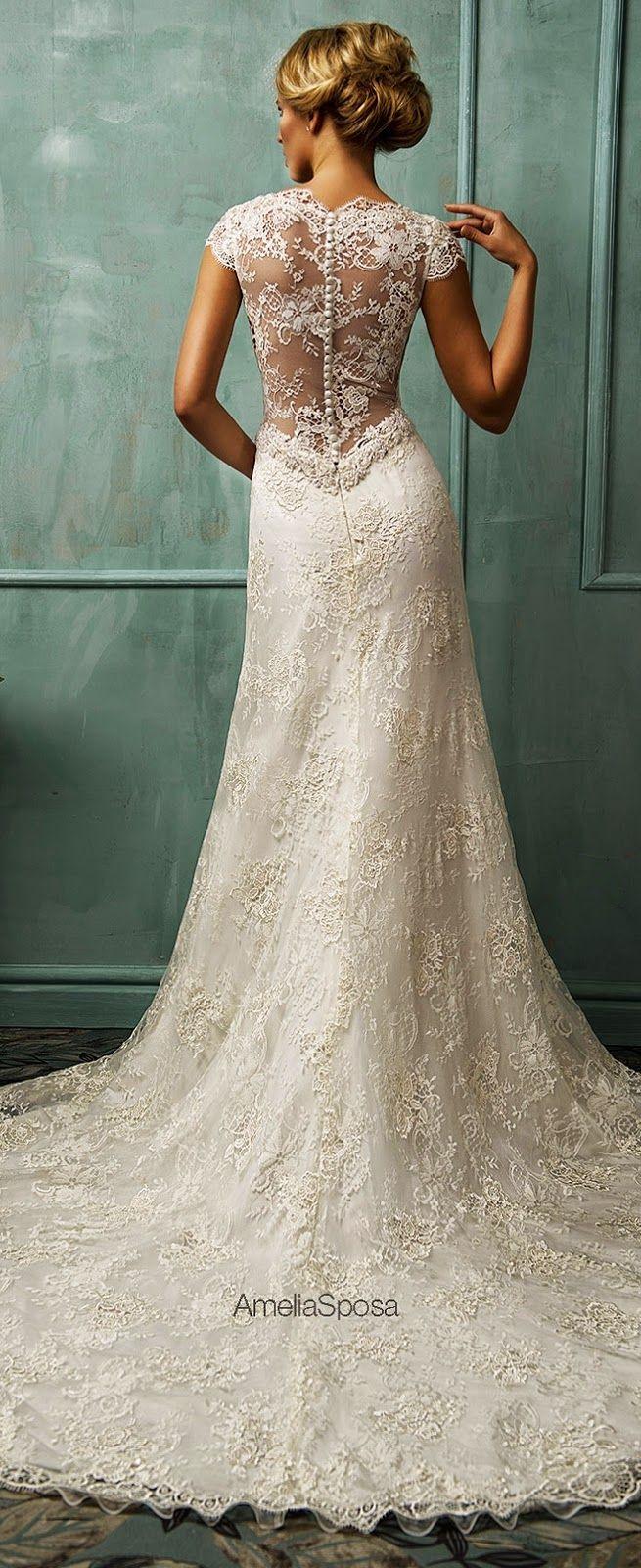 Amelia Sposa 2014 Wedding Dresses | Amelia sposa, Amelia and Wedding ...