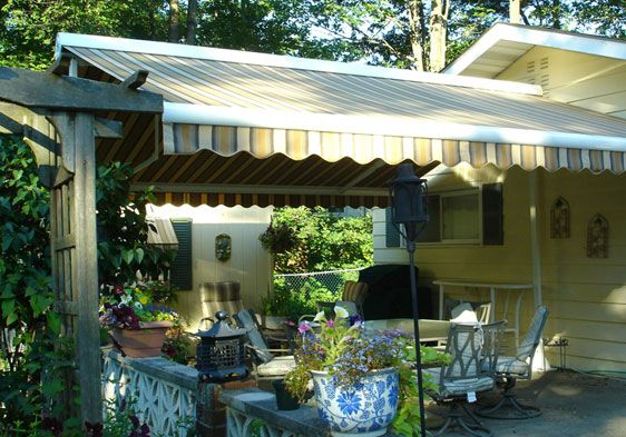 Difficult Awning Mount Not For Us Half Roof Mount Half Siding Mount Motorized Retractable Awning For Deck Awning Retractable Awning Sunroom Addition