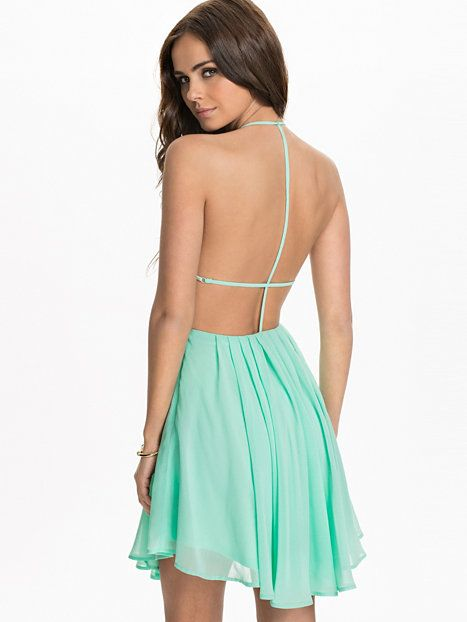 T Back Dress - Nly Trend - Mint - Partykleider - Kleidung - Damen ...