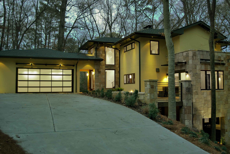 Frank Lloyd Wright Modern Carport : The frank lloyd wright inspired modern prairie home