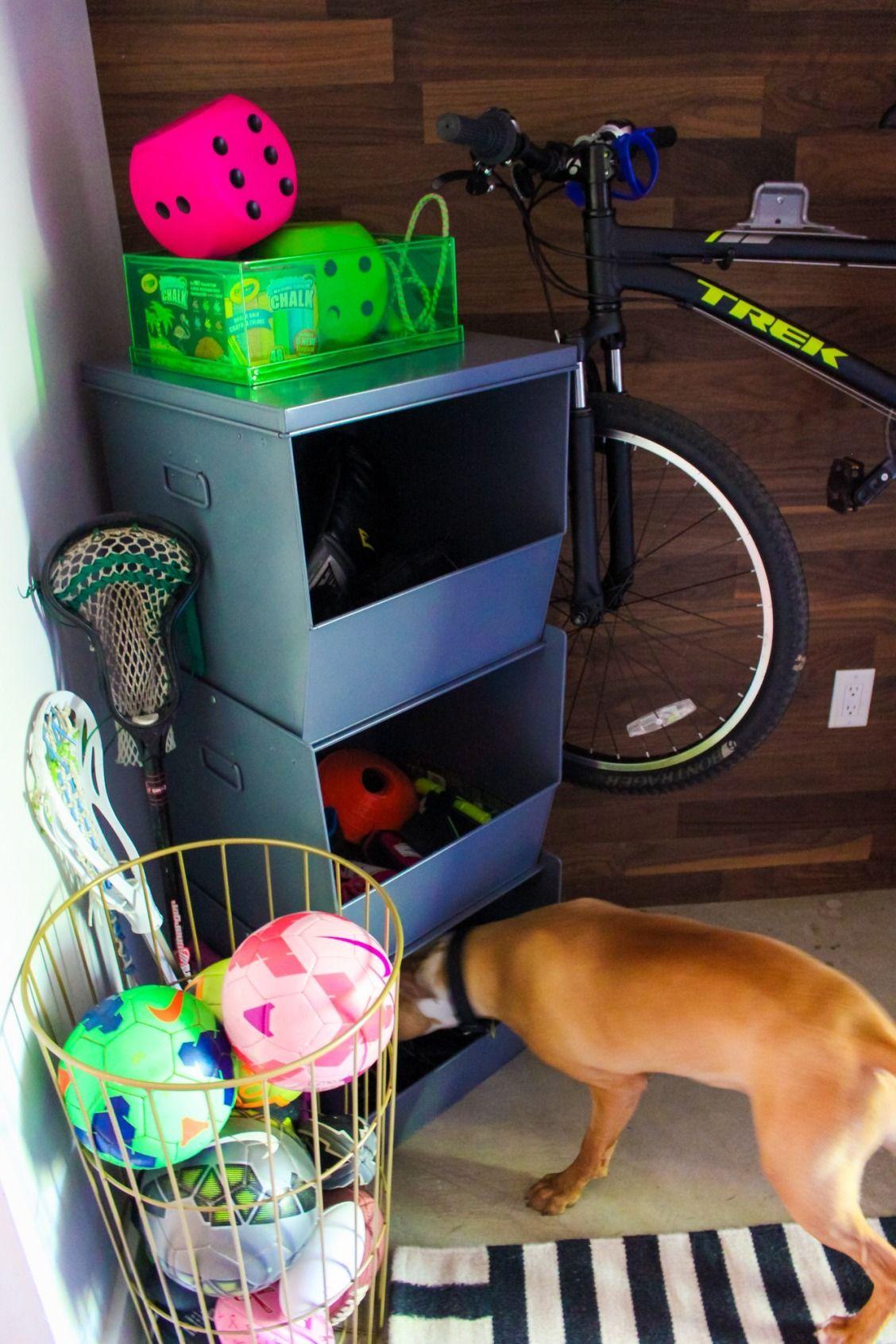 Tips to Organize Sports Equipment Kids toy organization