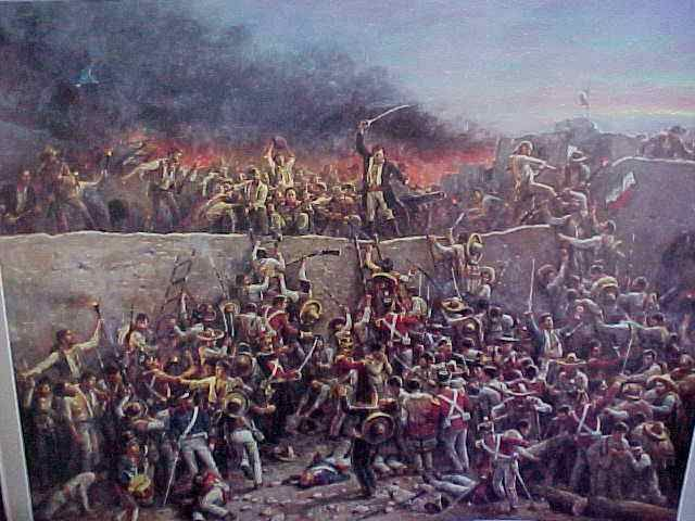 Dawn, March 6, 1836, Siege of the Alamo - Day 13 | Texas revolution, Alamo,  Mexican american war
