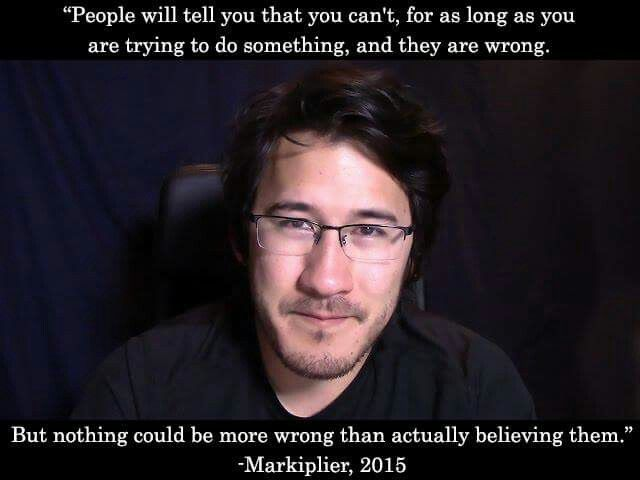 Markiplier Quotes Markiplier Quotes  Youtubers  Pinterest  Markiplier