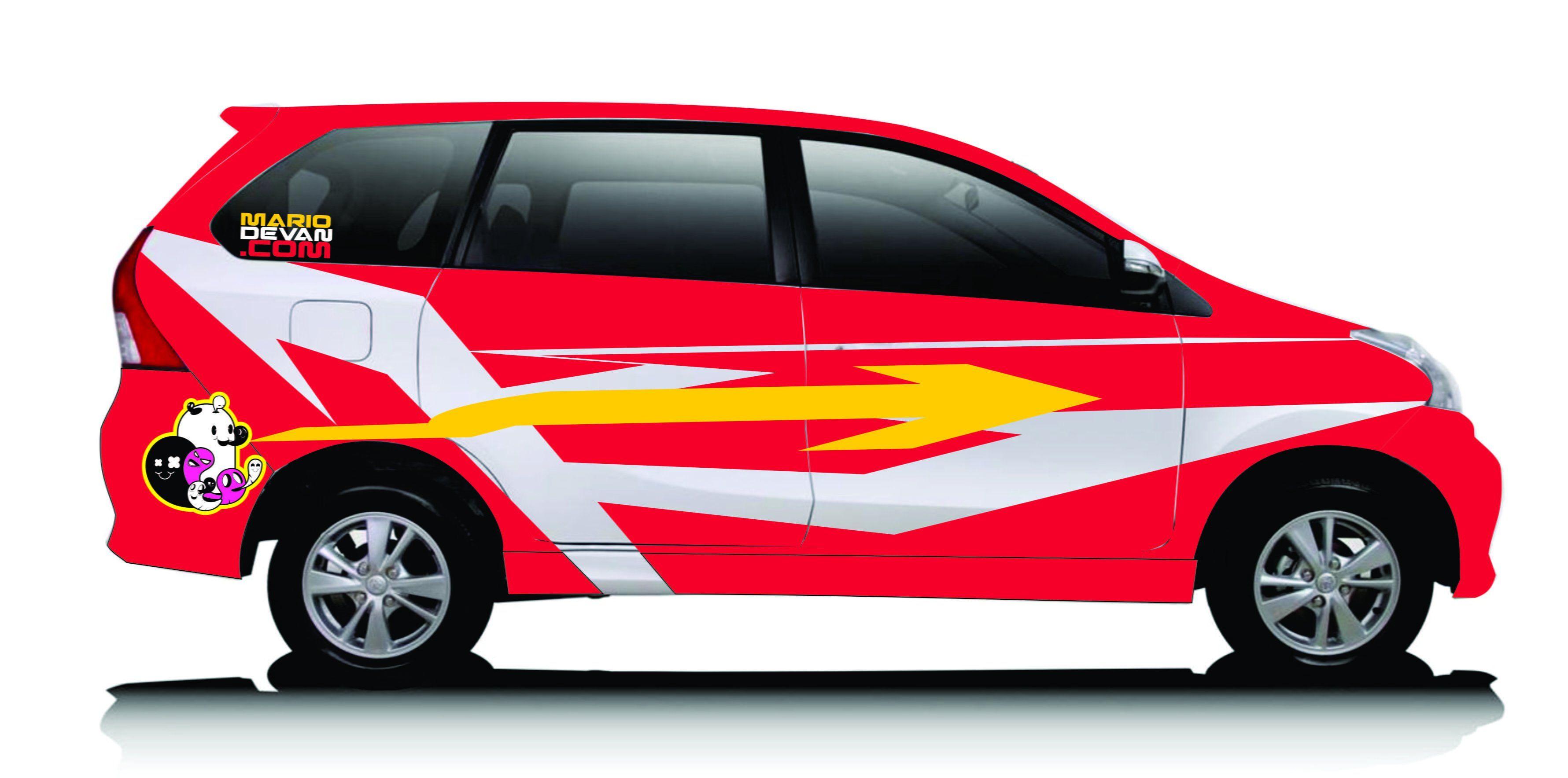 Modifikasi Mobil Xenia Merah Modifikasi Mobil Mobil Daihatsu