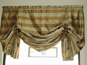 best london shades for the windows   Art d' Fabrique Valance Gallery