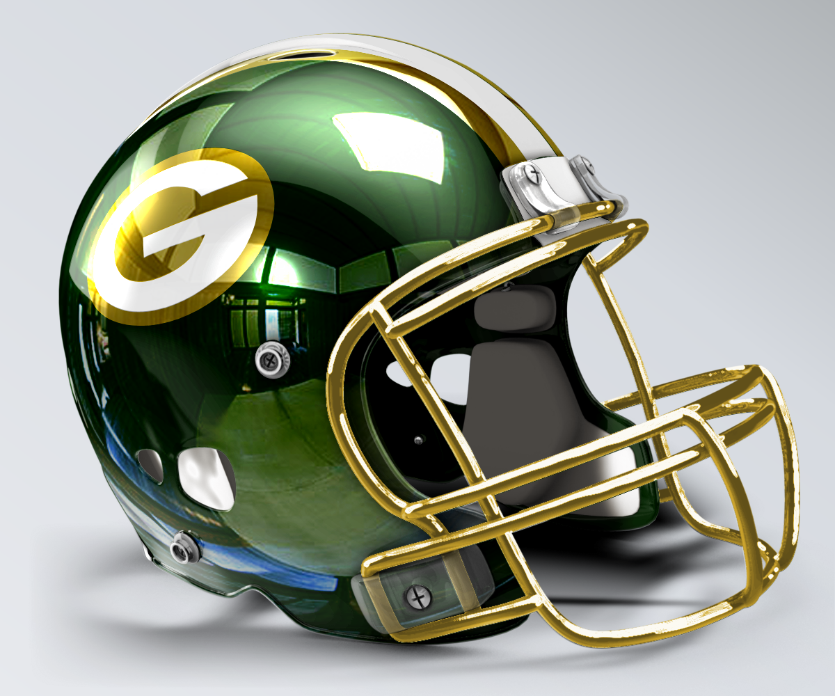 Green Bay Packers Concept Helmet 3 Football Helmets Packers Football Green Bay Packers Football