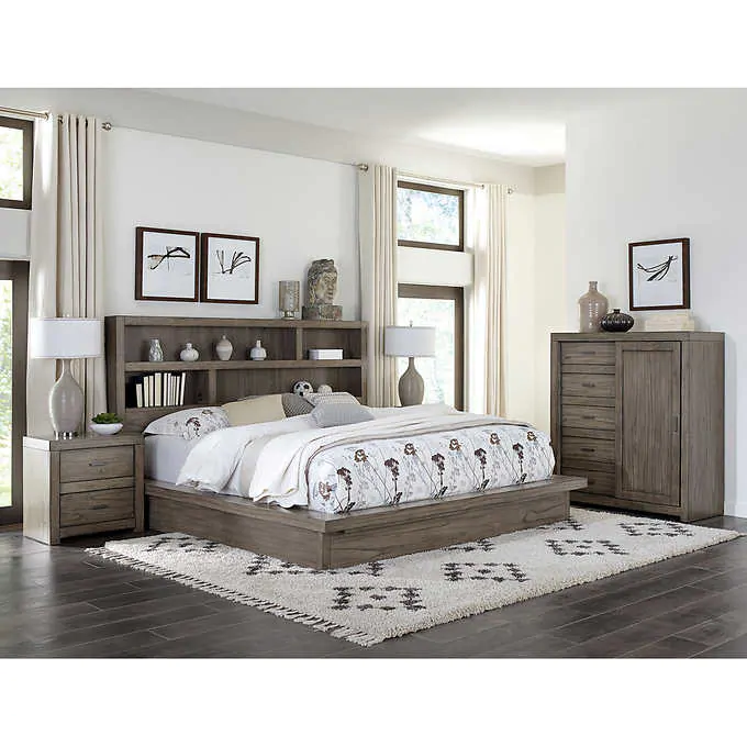 Anoka 4 Piece Cal King Bedroom Set King Bedroom Sets Bedroom Sets Queen Bedroom Set
