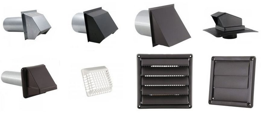wall vents kitchen exhaust fan cover