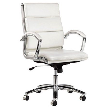 Alera Neratoli Series Mid Back Swivel Tilt Chair Chrome Frame