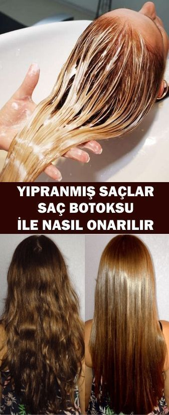 How To Repair Damaged Hair With Hair Botox Free Pattern And