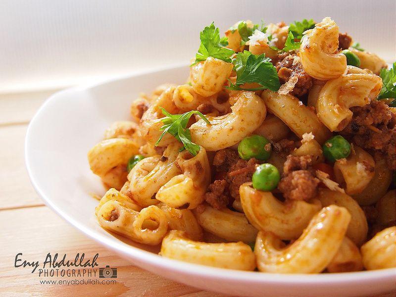 Macaroni Goreng Daging Cincang Resepi Pasta Makaroni