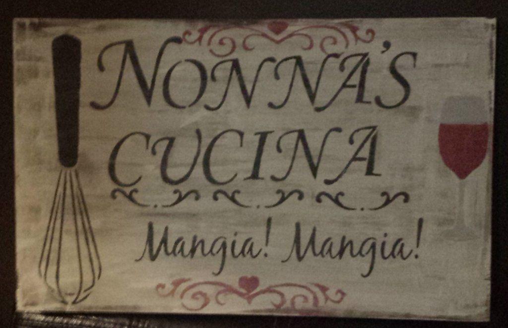 Kitchen/Nonna's Cucina | Kitchen signs, Kitchens and Postal code