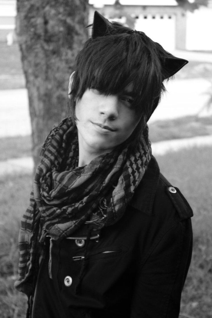 Cute emo boy and ium digginu the ears picture pinterest emo
