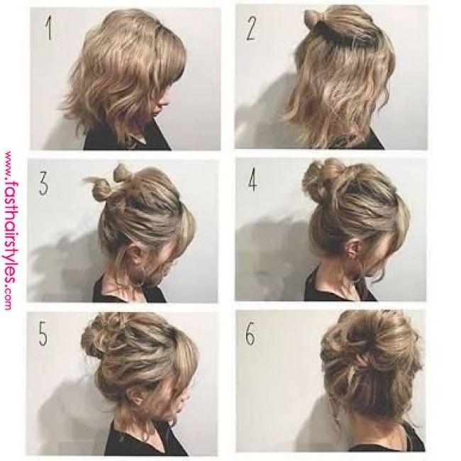 So Erstellen Sie Ein Medium Google Suche Erstellen Google Medium Suche Hair Styles In 2019 Pinte Short Hair Updo Thick Hair Styles Short Hair Styles