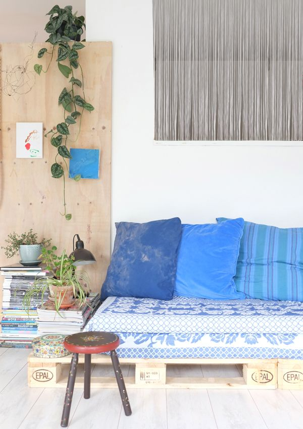 Persoonlijke styling in je interieur - de palletbank - Pimpelwit ...