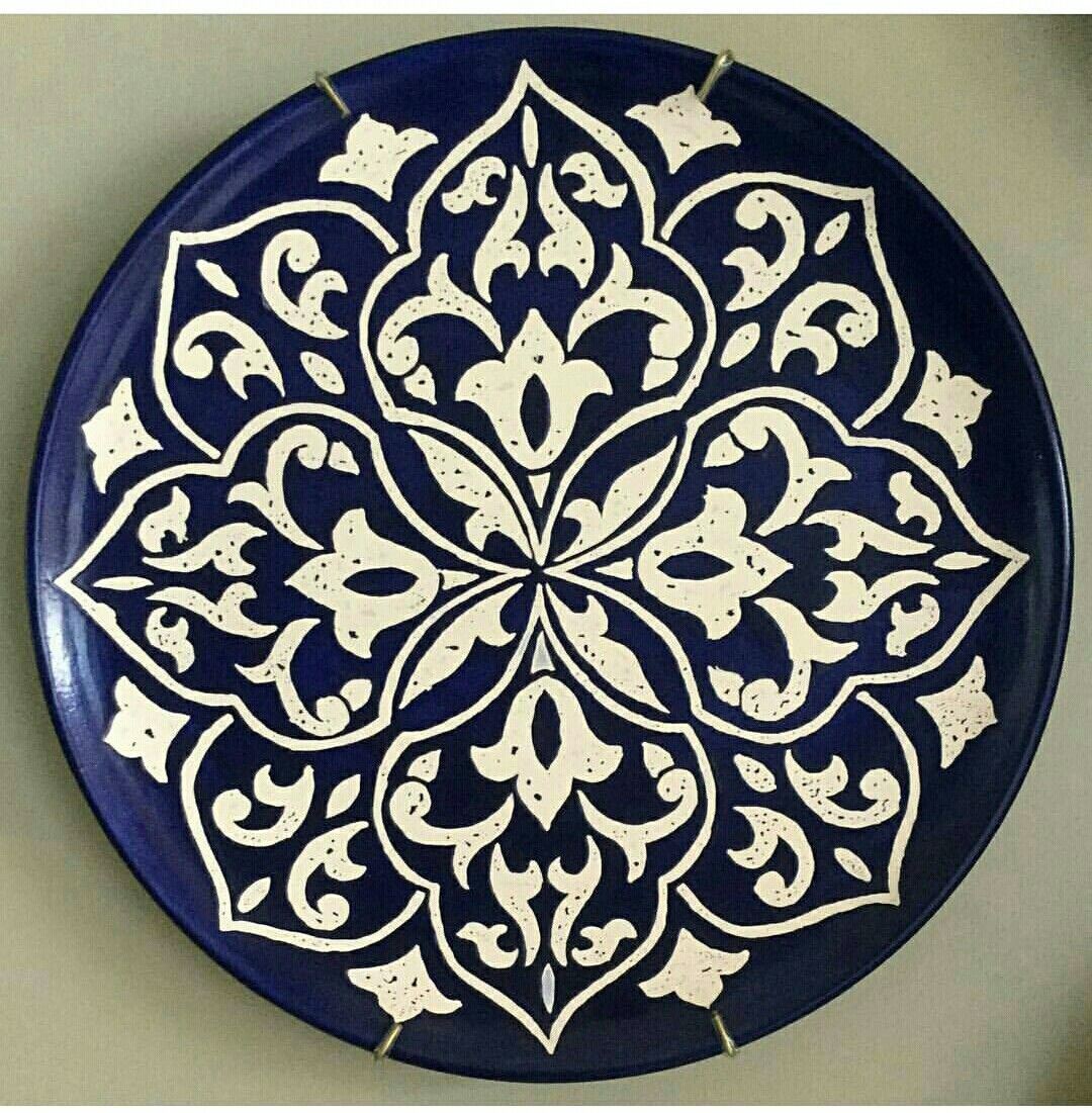 çini  sc 1 st  Pinterest & Pin by TC Kader Arap-barutçu on çini | Pinterest | Pottery Mandala ...