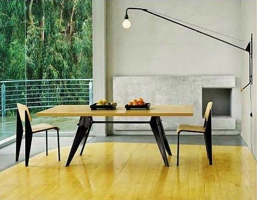 very prouv standard chairs em table potence lamp designed by jean prouv by vitra potence