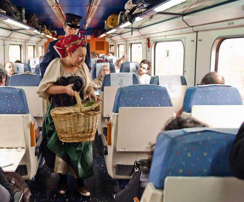 Tren Campos de Castilla
