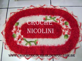 Croche Nicolini: JOGO DE BANHEIRO