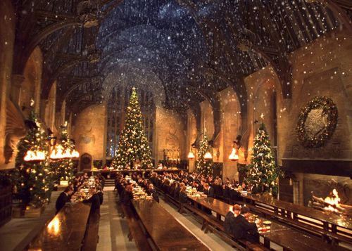 I would definitely choose Christmas at Hogwarts.