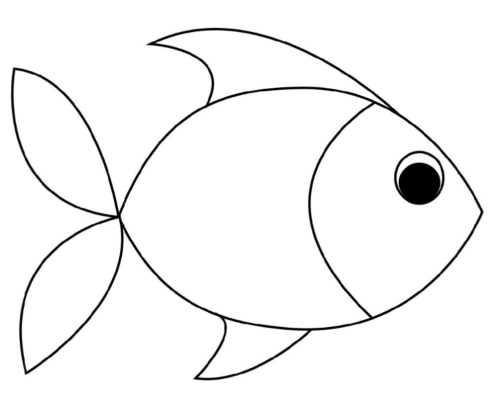 Color Sheets Fish