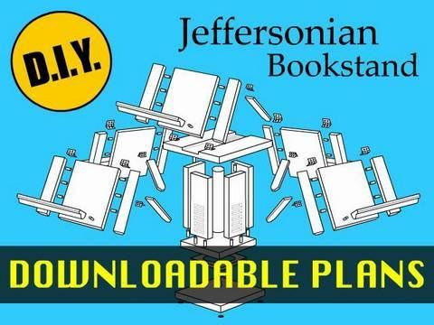 How to make a thomas jefferson jeffersonian bookstand with how to make a thomas jefferson jeffersonian bookstand with downloadable plans malvernweather Images