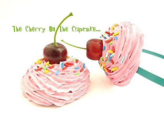 Cupcake Headband  The Cherry On The Cupcake  photography prop first birthday party hat  sc 1 st  Pinterest & Cupcake Headband