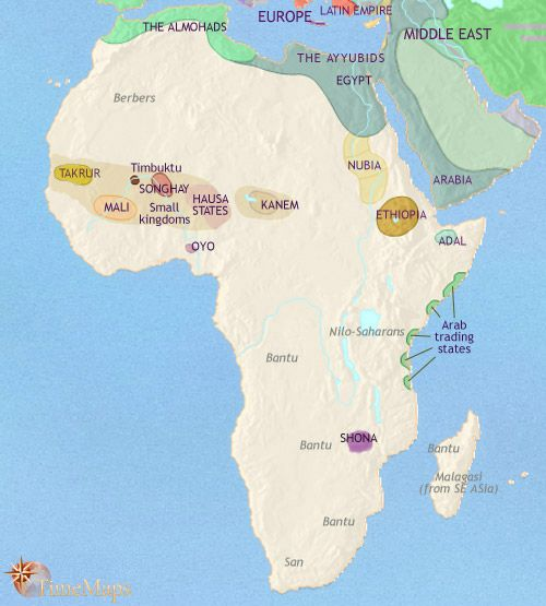 Hausa Kingdom Africa AD This Kingdom Gets Its Name From - Changing world language map