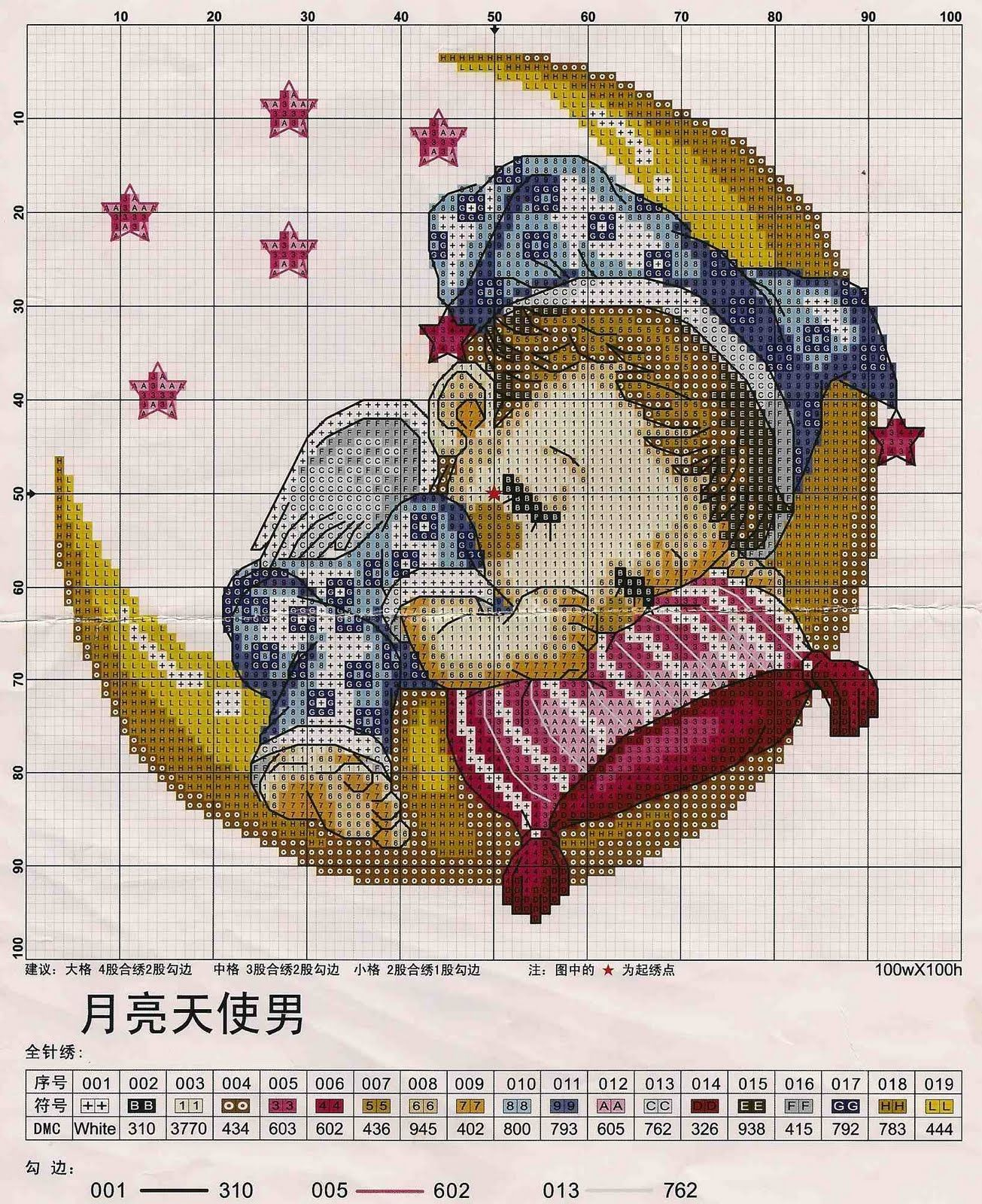 cross stitch patterns free printable | HOW TO CROSS STITCH! & Happy ...