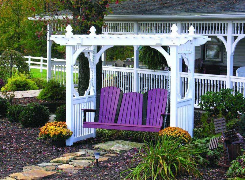 Pergola Swing Ideas For Your Backyard, Front Yard Or Landscape Garden