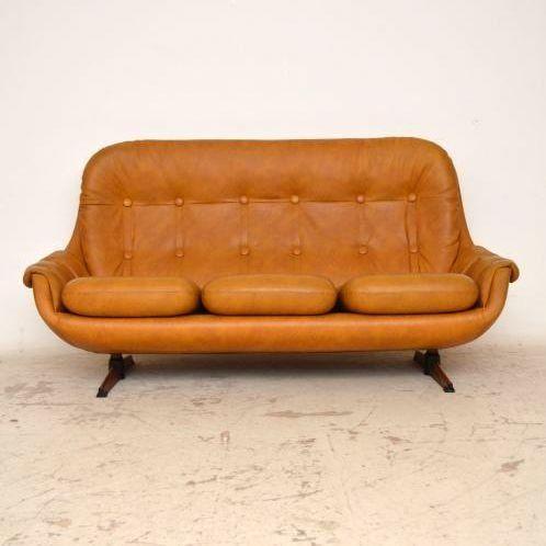 Anonymous; Sofa, c1970.