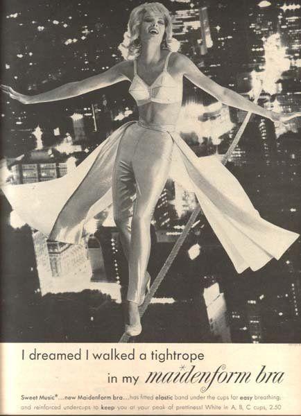vintage maidenform bra ad via retronaut vintage