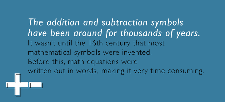 Math Facts- Did you know that the addition and subtraction