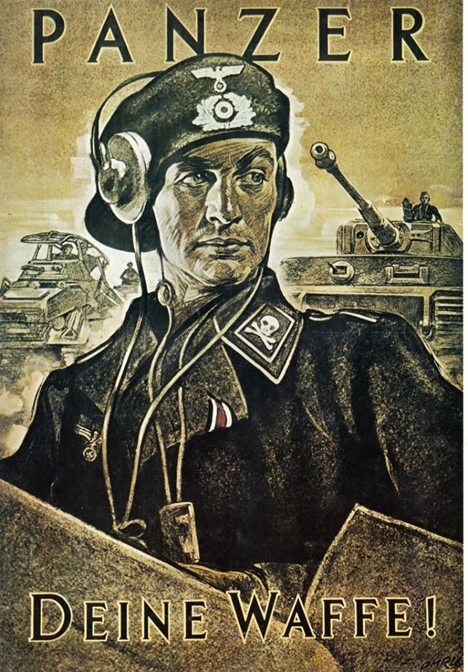Image result for recruiting poster for tank crew