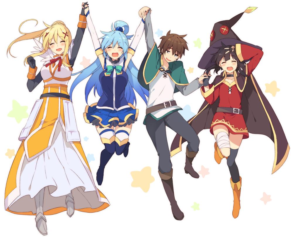 《为美好的世界献上祝福!》第2期部份角色全新设定图公布 Anime, Anime characters