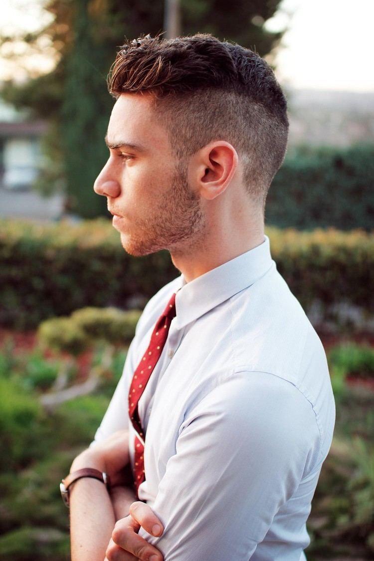 Haircuts for thin hair men coupe courte homme u  idées modernes de coiffures