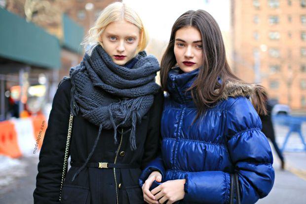 #NastyaKusakina and #AntoninaVasylchenko, New York, February 2013