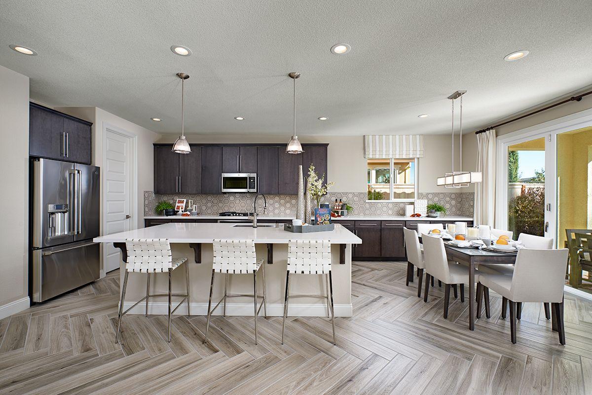 Generous Refrigerator Richmond American Homes Home Kitchens New Kitchen Designs