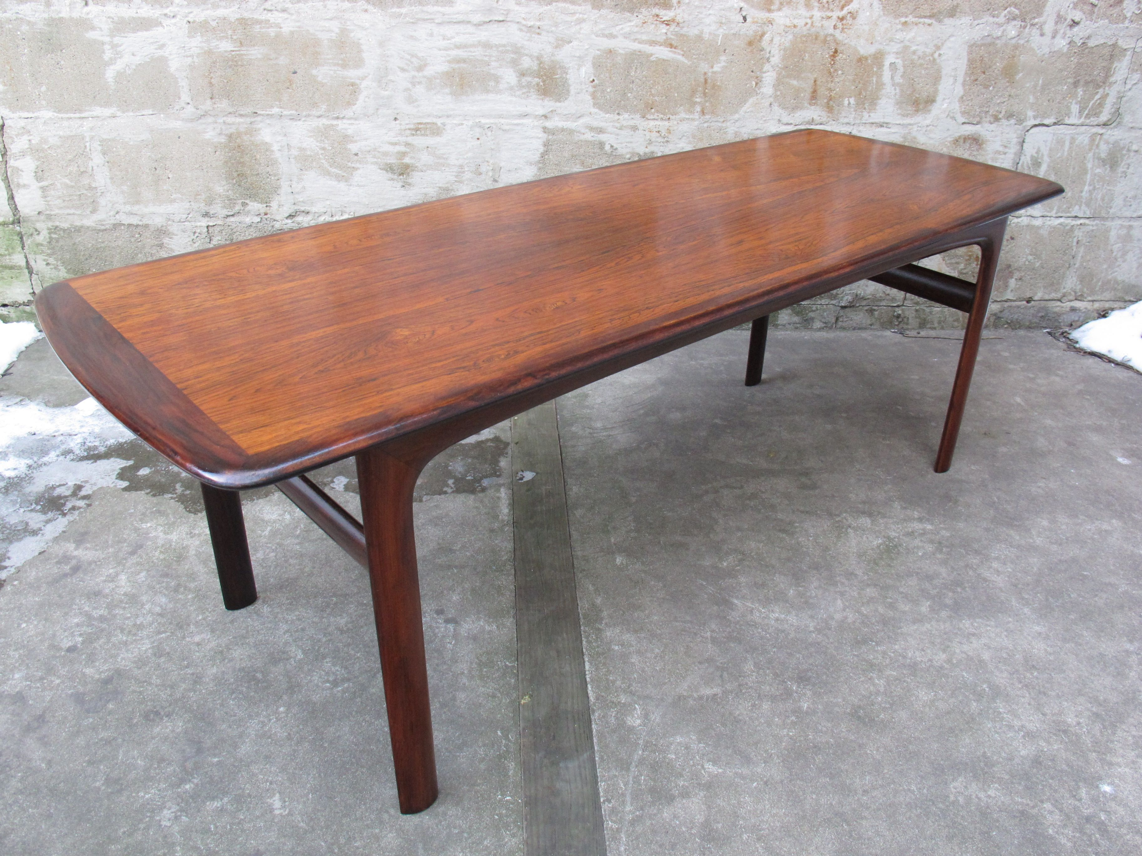NORWEGIAN ROSEWOOD COFFEE TABLE BY WESTNOFA