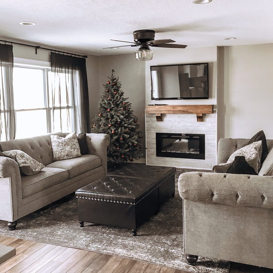 Ig Nelsenhomestead Shared Her Beautiful Home Decorated For The