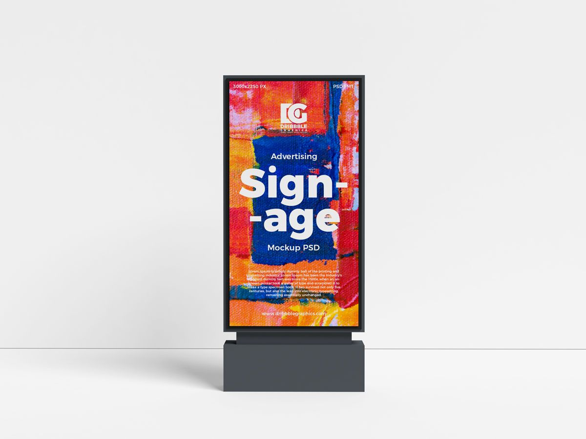 Download Outdoor Ad Mockup Free Yellowimages