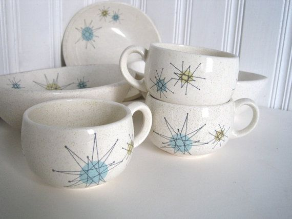 Atomic Starburst Franciscan Dishes Assorted Starburst by WaveSong on ...
