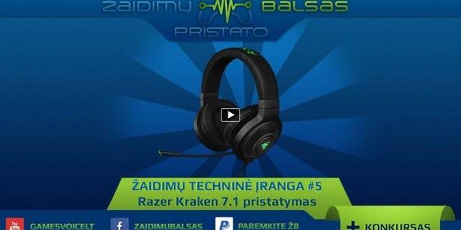 Razer Kraken 7 1 pristatymas | csgames lt | In ear