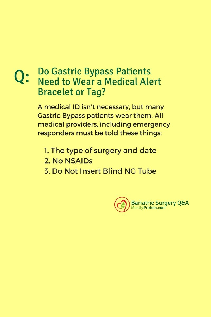 Gastric Byp Surgery Bariatric Medical Id Bracelets After Weight Loss