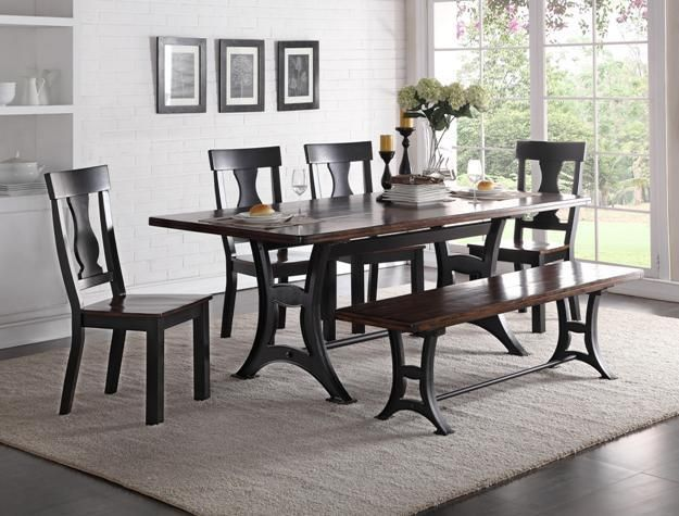astor dining table 4 chairs bench in 2018 dining table rh pinterest com