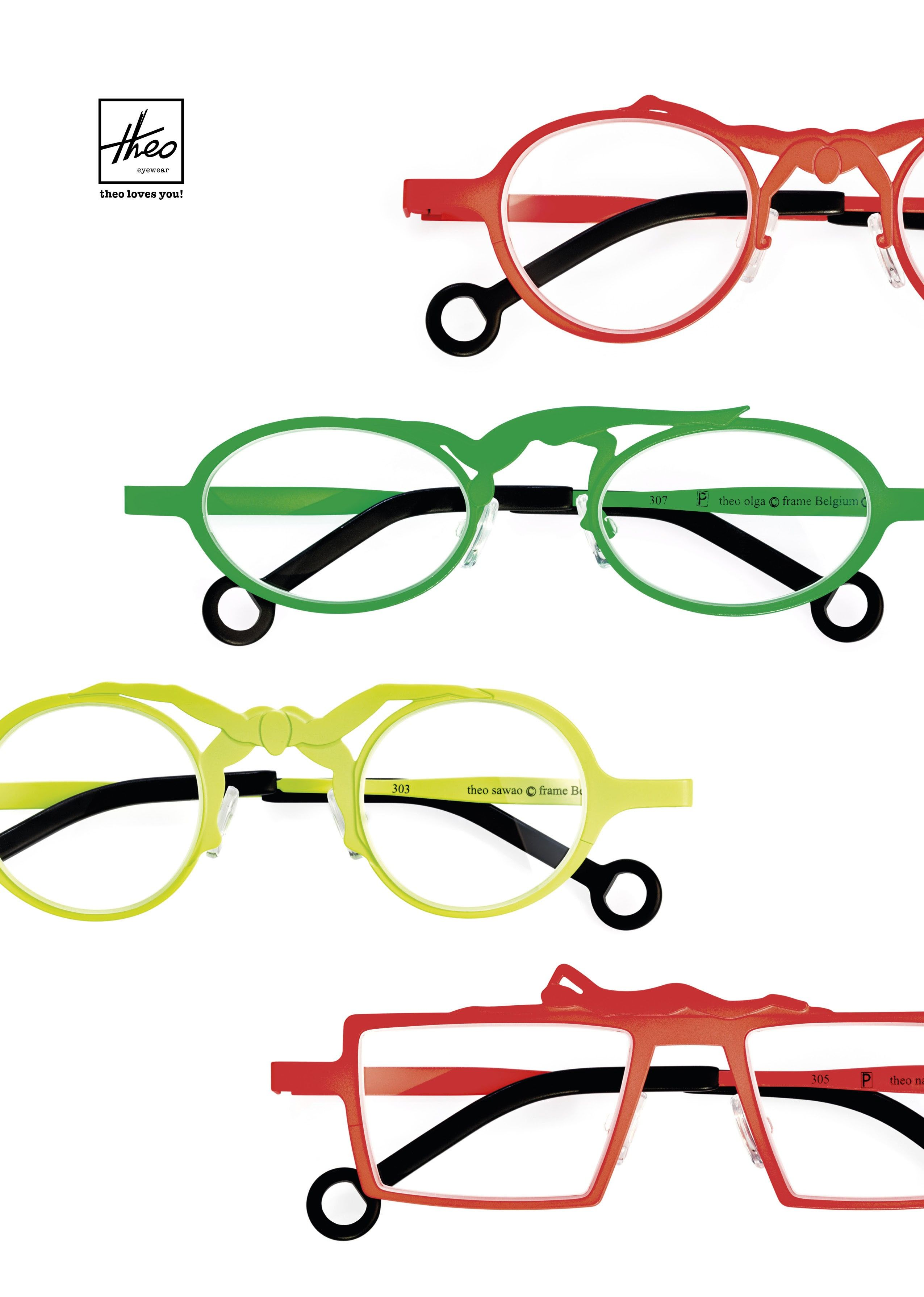Theo\'s playful Gymnast series is amazing! | Design - Eye Glasses ...