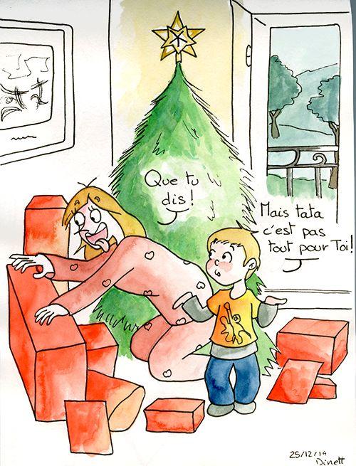 Ouvrir ses cadeaux le matin de noël